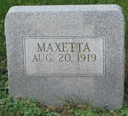 MASLONKA, MAXETTA - Thurston County, Nebraska | MAXETTA MASLONKA - Nebraska Gravestone Photos