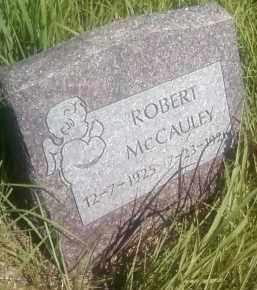 MCCAULEY, ROBERT - Thurston County, Nebraska | ROBERT MCCAULEY - Nebraska Gravestone Photos