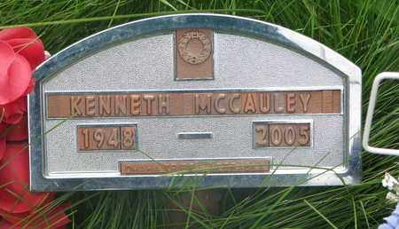 MCCAULEY, KENNETH - Thurston County, Nebraska   KENNETH MCCAULEY - Nebraska Gravestone Photos