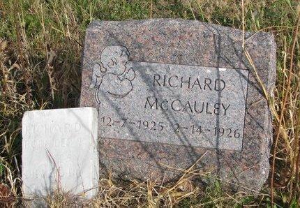 MCCAULEY, RICHARD - Thurston County, Nebraska   RICHARD MCCAULEY - Nebraska Gravestone Photos