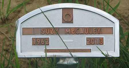 MCCAULEY, SUZY - Thurston County, Nebraska | SUZY MCCAULEY - Nebraska Gravestone Photos