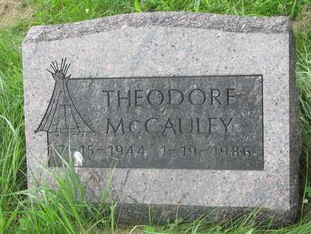 MCCAULEY, THEODORE - Thurston County, Nebraska | THEODORE MCCAULEY - Nebraska Gravestone Photos