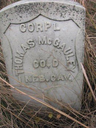MCCAULEY, THOMAS - Thurston County, Nebraska | THOMAS MCCAULEY - Nebraska Gravestone Photos