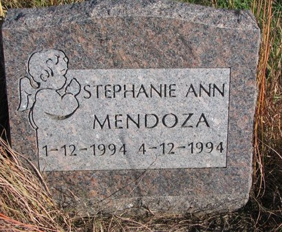 MENDOZA, STEPHANIE ANN - Thurston County, Nebraska | STEPHANIE ANN MENDOZA - Nebraska Gravestone Photos
