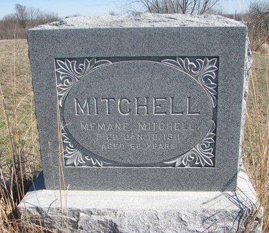 MITCHELL, MEMANE - Thurston County, Nebraska   MEMANE MITCHELL - Nebraska Gravestone Photos