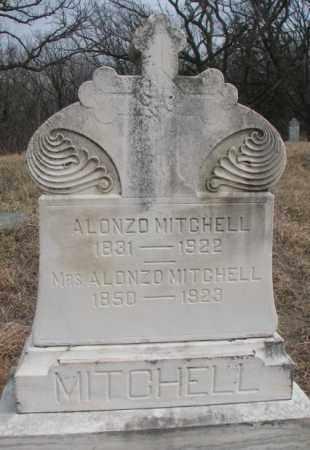 MITCHELL, MRS. ALONZO - Thurston County, Nebraska | MRS. ALONZO MITCHELL - Nebraska Gravestone Photos