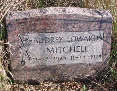 MITCHELL, AUDREY - Thurston County, Nebraska | AUDREY MITCHELL - Nebraska Gravestone Photos
