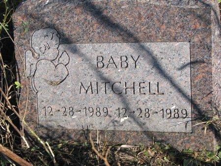 MITCHELL, BABY - Thurston County, Nebraska | BABY MITCHELL - Nebraska Gravestone Photos