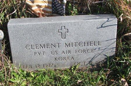 MITCHELL, CLEMENT - Thurston County, Nebraska   CLEMENT MITCHELL - Nebraska Gravestone Photos