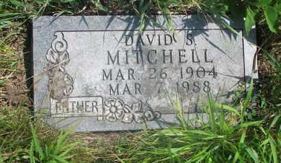 MITCHELL, DAVID S. - Thurston County, Nebraska | DAVID S. MITCHELL - Nebraska Gravestone Photos