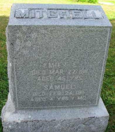 MITCHELL, SAMUEL - Thurston County, Nebraska | SAMUEL MITCHELL - Nebraska Gravestone Photos