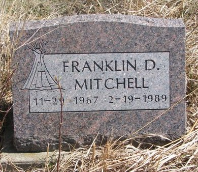 MITCHELL, FRANKLIN D. - Thurston County, Nebraska | FRANKLIN D. MITCHELL - Nebraska Gravestone Photos