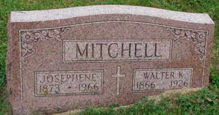 MITCHELL, WALTER K. - Thurston County, Nebraska | WALTER K. MITCHELL - Nebraska Gravestone Photos