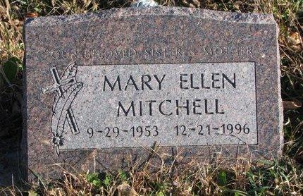 MITCHELL, MARY ELLEN - Thurston County, Nebraska | MARY ELLEN MITCHELL - Nebraska Gravestone Photos