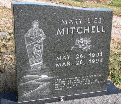 MITCHELL, MARY - Thurston County, Nebraska   MARY MITCHELL - Nebraska Gravestone Photos