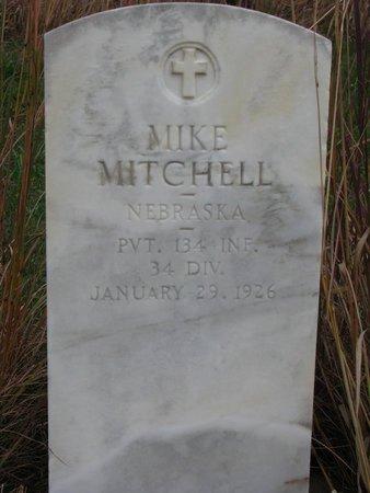 MITCHELL, MIKE - Thurston County, Nebraska | MIKE MITCHELL - Nebraska Gravestone Photos