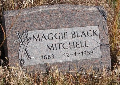 MITCHELL, MAGGIE - Thurston County, Nebraska | MAGGIE MITCHELL - Nebraska Gravestone Photos