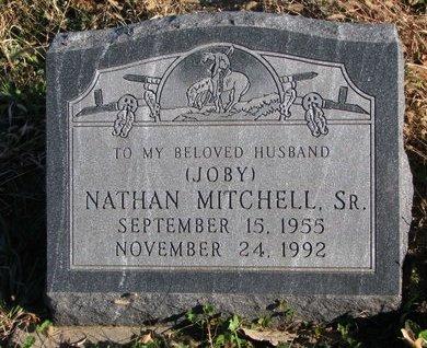 MITCHELL, NATHAN SR. - Thurston County, Nebraska | NATHAN SR. MITCHELL - Nebraska Gravestone Photos