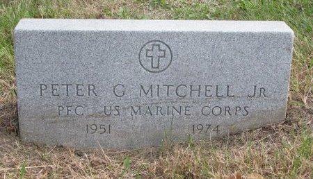 MITCHELL, PETER G. JR. - Thurston County, Nebraska | PETER G. JR. MITCHELL - Nebraska Gravestone Photos