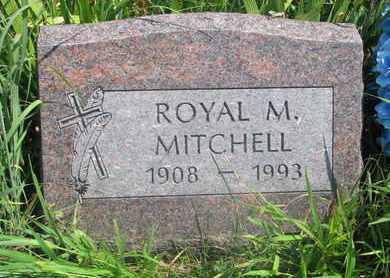 MITCHELL, ROYAL M. - Thurston County, Nebraska | ROYAL M. MITCHELL - Nebraska Gravestone Photos
