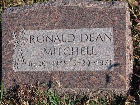 MITCHELL, RONALD DEAN - Thurston County, Nebraska | RONALD DEAN MITCHELL - Nebraska Gravestone Photos