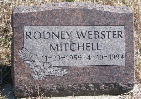 MITCHELL, RODNEY WEBSTER - Thurston County, Nebraska | RODNEY WEBSTER MITCHELL - Nebraska Gravestone Photos