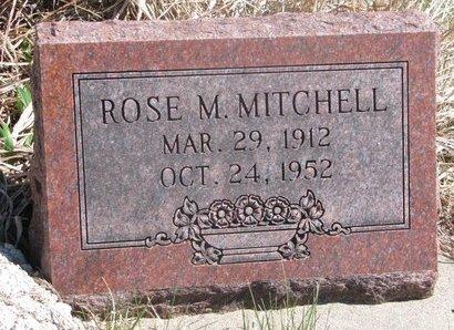 MITCHELL, ROSE M. - Thurston County, Nebraska   ROSE M. MITCHELL - Nebraska Gravestone Photos