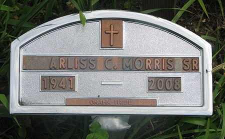 MORRIS, ARLISS C. SR. - Thurston County, Nebraska | ARLISS C. SR. MORRIS - Nebraska Gravestone Photos