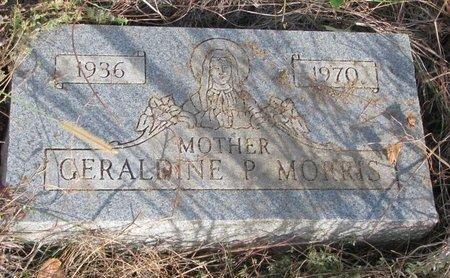 MORRIS, GERALDINE P. - Thurston County, Nebraska | GERALDINE P. MORRIS - Nebraska Gravestone Photos