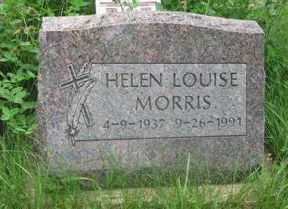 MORRIS, HELEN LOUISE - Thurston County, Nebraska | HELEN LOUISE MORRIS - Nebraska Gravestone Photos