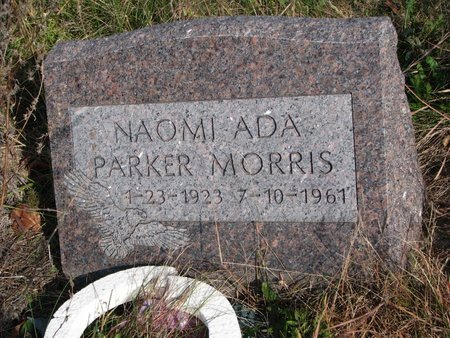 MORRIS, NAOMI ADA - Thurston County, Nebraska   NAOMI ADA MORRIS - Nebraska Gravestone Photos