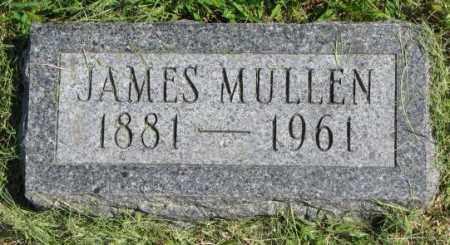 MULLEN, JAMES - Thurston County, Nebraska | JAMES MULLEN - Nebraska Gravestone Photos