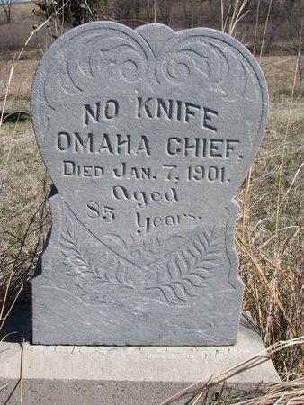 NO KNIFE, OMAHA CHIEF - Thurston County, Nebraska | OMAHA CHIEF NO KNIFE - Nebraska Gravestone Photos