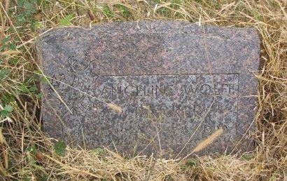 PARKER, ANGELINE - Thurston County, Nebraska | ANGELINE PARKER - Nebraska Gravestone Photos
