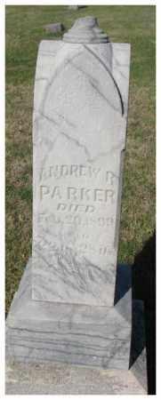 PARKER, ANDREW B. - Thurston County, Nebraska | ANDREW B. PARKER - Nebraska Gravestone Photos