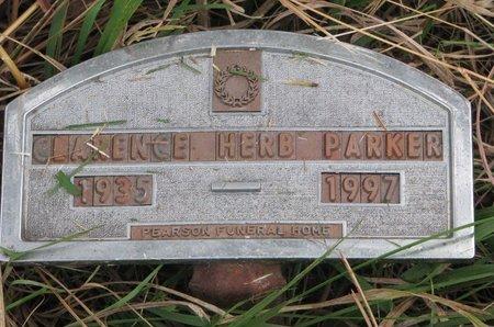 PARKER, CLARENCE HERB - Thurston County, Nebraska | CLARENCE HERB PARKER - Nebraska Gravestone Photos