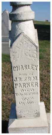 PARKER, CHARLEY - Thurston County, Nebraska | CHARLEY PARKER - Nebraska Gravestone Photos