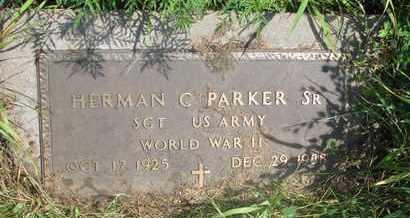PARKER, HERMAN C. SR. - Thurston County, Nebraska | HERMAN C. SR. PARKER - Nebraska Gravestone Photos