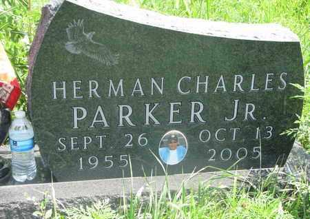 PARKER, HERMAN CHARLES JR. - Thurston County, Nebraska   HERMAN CHARLES JR. PARKER - Nebraska Gravestone Photos