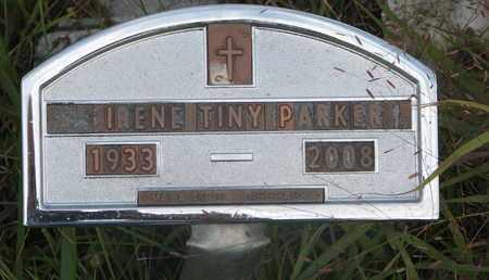 PARKER, IRENE - Thurston County, Nebraska | IRENE PARKER - Nebraska Gravestone Photos