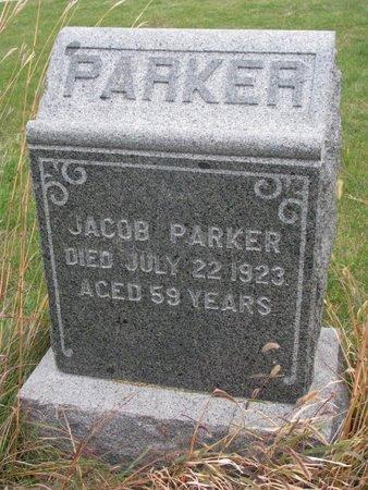 PARKER, JACOB - Thurston County, Nebraska   JACOB PARKER - Nebraska Gravestone Photos