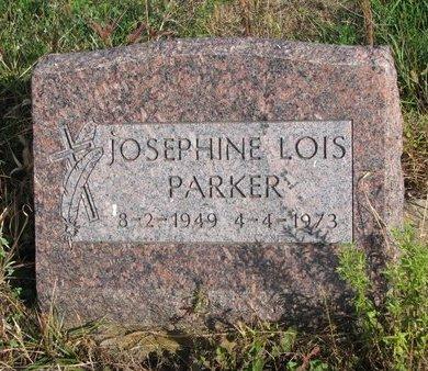 PARKER, JOSEPHINE LOIS - Thurston County, Nebraska | JOSEPHINE LOIS PARKER - Nebraska Gravestone Photos