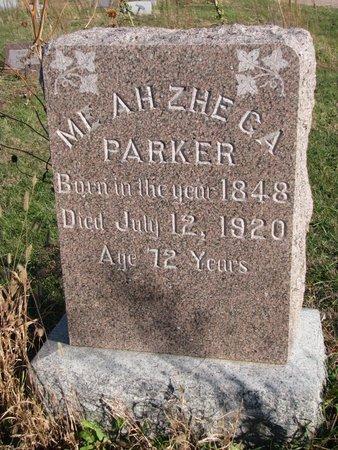PARKER, ME AH ZHE CA - Thurston County, Nebraska | ME AH ZHE CA PARKER - Nebraska Gravestone Photos