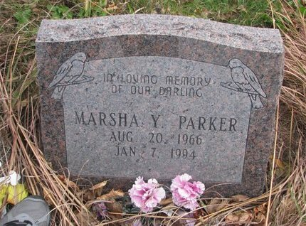 PARKER, MARSHA Y. - Thurston County, Nebraska | MARSHA Y. PARKER - Nebraska Gravestone Photos