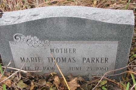 PARKER, MARIE - Thurston County, Nebraska | MARIE PARKER - Nebraska Gravestone Photos
