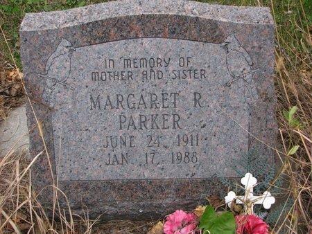 PARKER, MARGARET R. - Thurston County, Nebraska | MARGARET R. PARKER - Nebraska Gravestone Photos