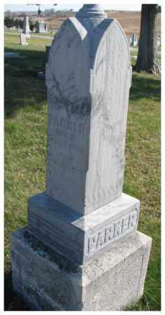 PARKER, OLIVIA - Thurston County, Nebraska   OLIVIA PARKER - Nebraska Gravestone Photos