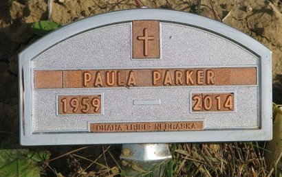 PARKER, PAULA - Thurston County, Nebraska | PAULA PARKER - Nebraska Gravestone Photos