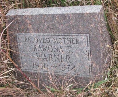 WARNER, RAMONA T. - Thurston County, Nebraska | RAMONA T. WARNER - Nebraska Gravestone Photos