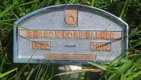 PARKER, SHARON ROSE - Thurston County, Nebraska | SHARON ROSE PARKER - Nebraska Gravestone Photos